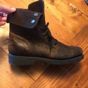 Genuine leather Harley Davidson boots